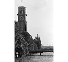 Thermometer Tower Photographic Print