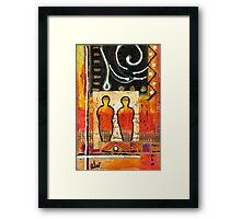 Companions II Framed Print