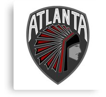 Atlanta Falcons Logo 2 Canvas Print