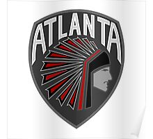 Atlanta Falcons Logo 2 Poster