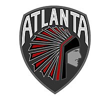Atlanta Falcons Logo 2 Photographic Print