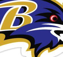 Baltimore Ravens Logo 1 Sticker