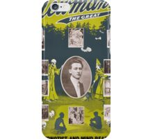 Newmann the Great - 1916 Vintage Poster Restored iPhone Case/Skin
