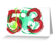 53 dog. Greeting Card