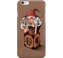 Girl 49 | Girl in a box  iPhone Case/Skin