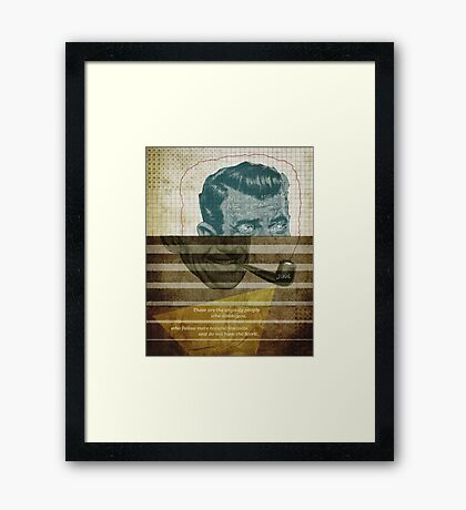Word: Jude Framed Print