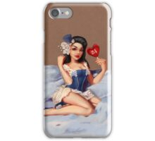 Girl 24 | (Your best Gil Elvgren) Pinup iPhone Case/Skin