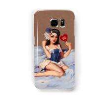Girl 24   (Your best Gil Elvgren) Pinup Samsung Galaxy Case/Skin
