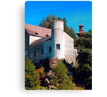 Waldenfels castle V Canvas Print