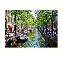 AMSTERDAM. Art Print