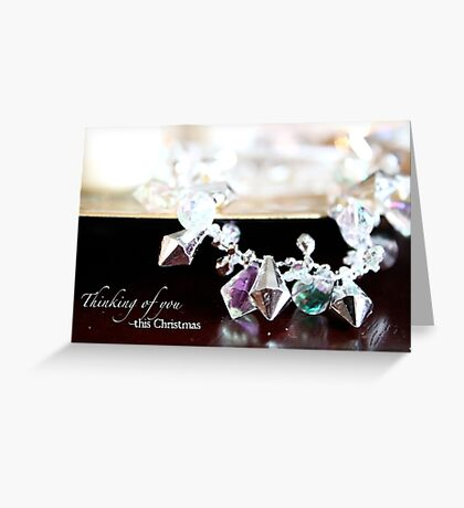 Thinking of You This Christmas Greeting Card