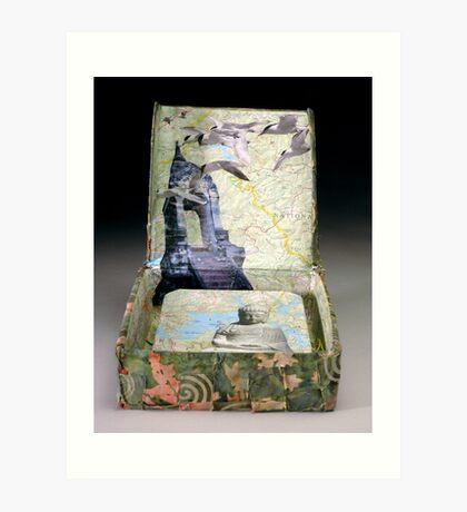 Altar Book Box Art Print