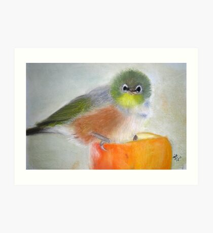 GRUMPY - project with photo from AndreaEL Art Print