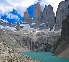 Torres Del Paine by Dean Cunningham