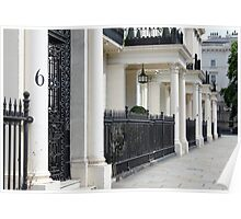 london homes Poster