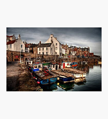 Evening Rolling in over Crail Photographic Print