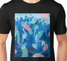 blue ghosts Unisex T-Shirt
