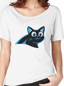 Carolina Panthers Logo 2 Women's Relaxed Fit T-Shirt