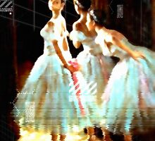 Impressions Of Modern Ballet by Romanovna Fine Art Prints