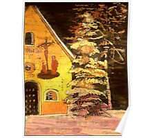 Christmas in Germany with Chapel Poster