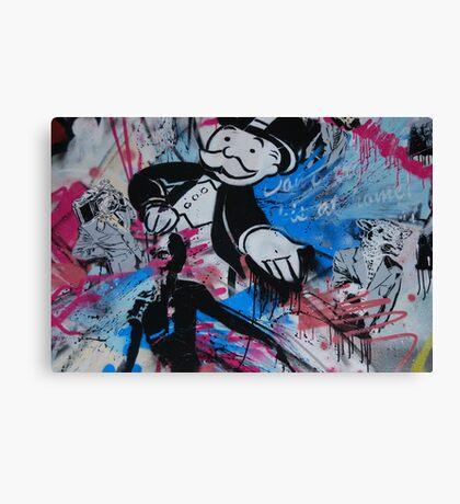 Mr Monopoly  Canvas Print