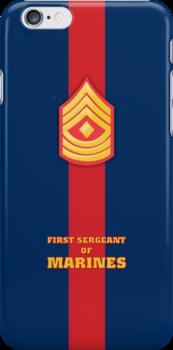 USMC E8 1stSgt Blood Stripe by Sinubis