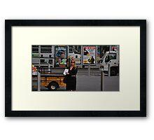 0kmphr Framed Print