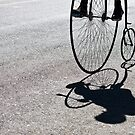 Penny-farthing shadow by fixie