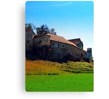 Waldenfels castle VII Canvas Print