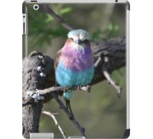 Lilac Roller - South Africa iPad Case/Skin