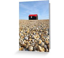 Fisherman's Hut Rye Harbour Greeting Card