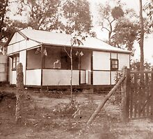 Holiday Cottage, Blue Mountains, NSW, c 1936 by Adrian Paul