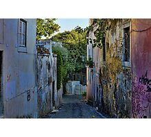 Lisbon, near St. Jorge Castle Photographic Print