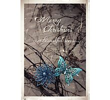 Merry Christmas - Sons In Heaven Photographic Print