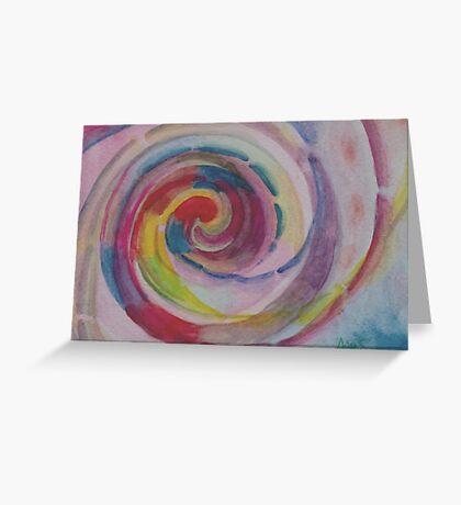 Spiral Greeting Card