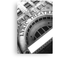Lyric Theatre Canvas Print