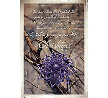Thank You For Your Friendship Photographic Print