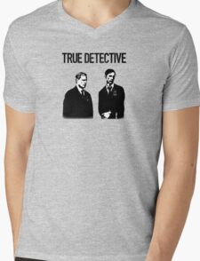 True Detective - Cohle and Hart Mens V-Neck T-Shirt