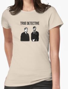 True Detective - Cohle and Hart Womens Fitted T-Shirt