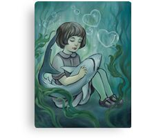 Underwater Dreaming  Canvas Print