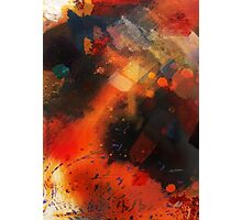 Fire of Love from Love Bade Me Welcome, painting-print by Jenny Meehan  Photographic Print