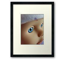 Living Doll! Framed Print