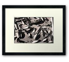 Lures Framed Print