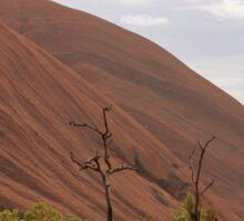 Uluru and trees Sticker