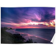 Sunset Coast Poster