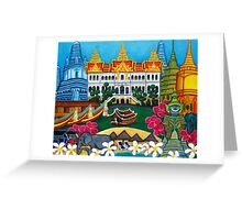 Exotic Bangkok Greeting Card