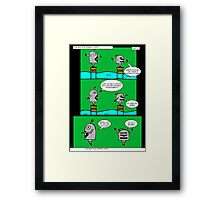 Karate Framed Print