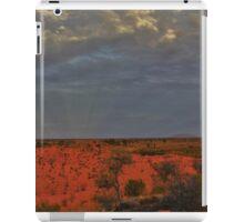 Sun Rays over Uluru iPad Case/Skin