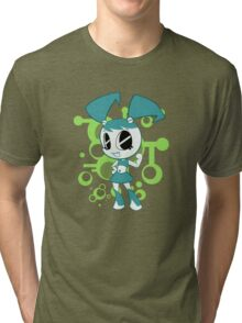 Teenage Robot Tri-blend T-Shirt