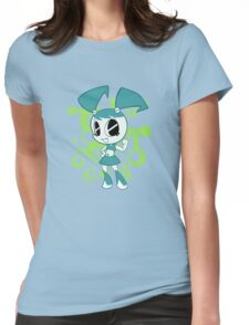 Teenage Robot Womens Fitted T-Shirt